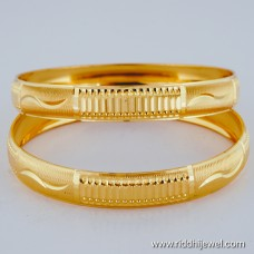 22KT GOLD PLATED LAZER CUT BANGLE BLC107