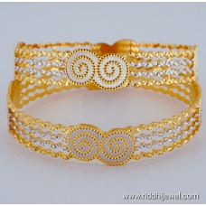 22KT GOLD PLATED DESIGNER GOLD PLATED BANGLE BLC112