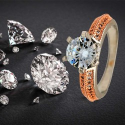 RING CZ SOLITAIRE RM5701